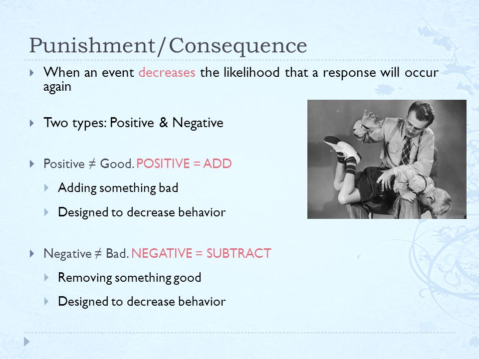 voluntary behaviors that produce rewarding or punishing consequences are called