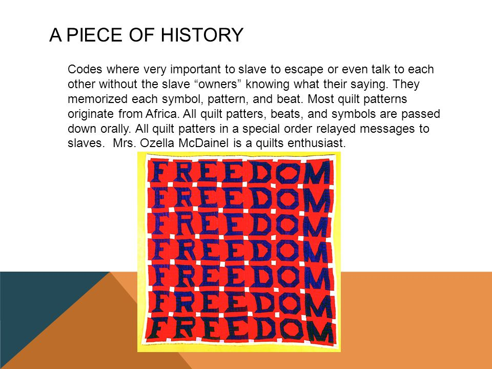 Freedom Quilts By Jasmine Thompson Ppt Download