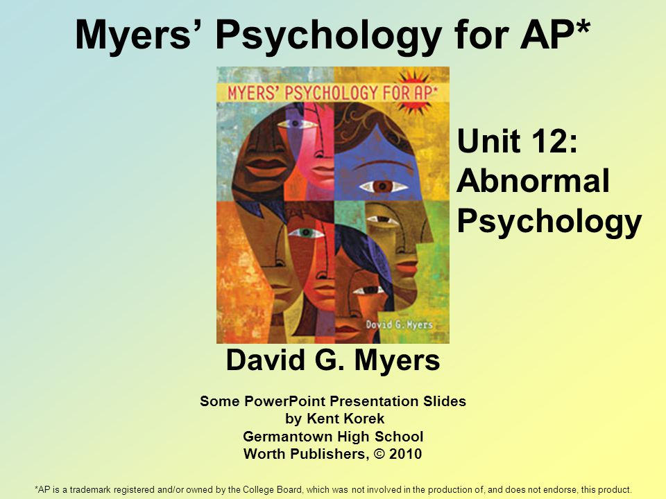 Myers' Psychology for AP* - ppt download