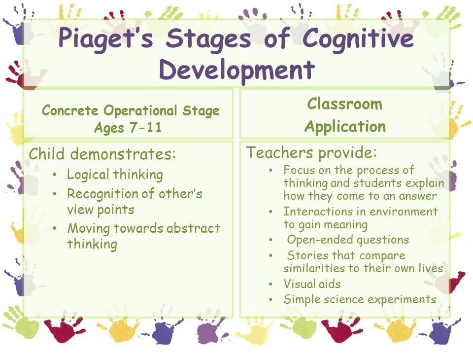 in piagets concrete operational stage