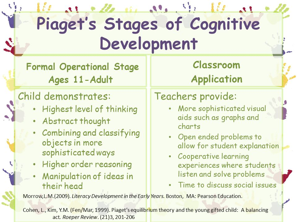 Piaget adult learning