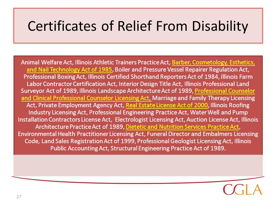Alternative Forms Of Relief Of Criminal Records Relief Ppt Video