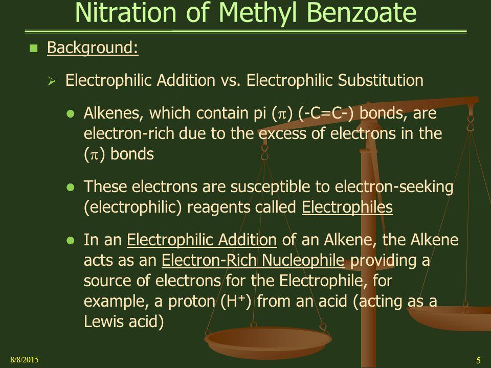 theoretical yield of methyl benzoate