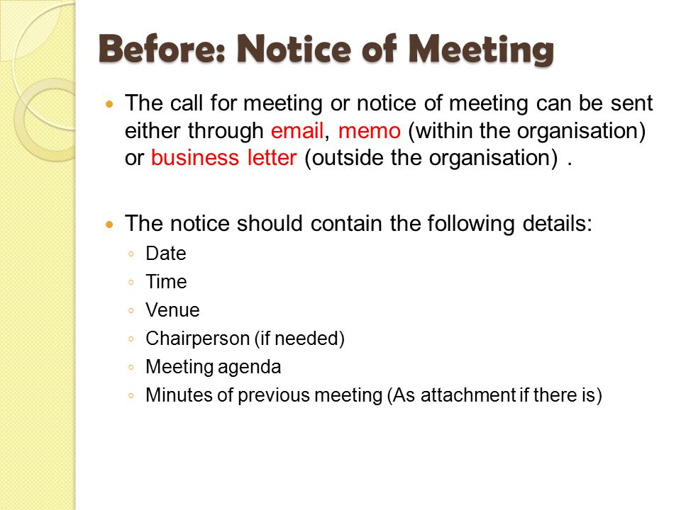 Meetings Before During After Ppt Video Online Download