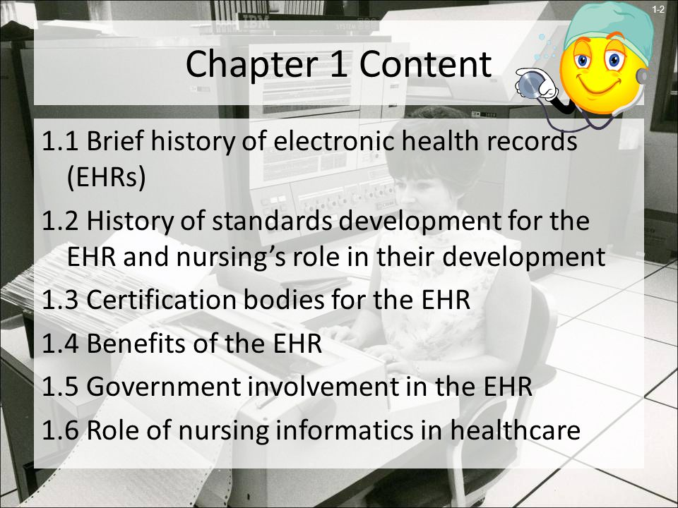 An Introduction To Electronic Health Records Ppt Download
