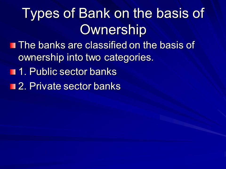 Forms Of Business Organization Joint Stock Companies And Banks Ppt