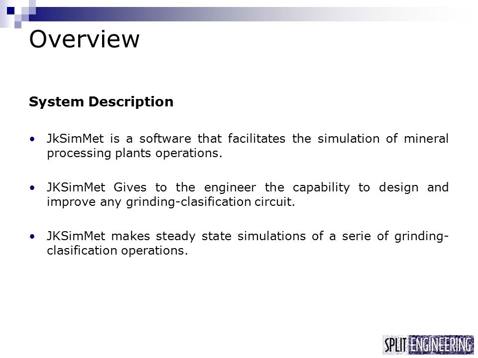 Jksimmet Steady State Processing Plant Simulator Ppt Video Online Download