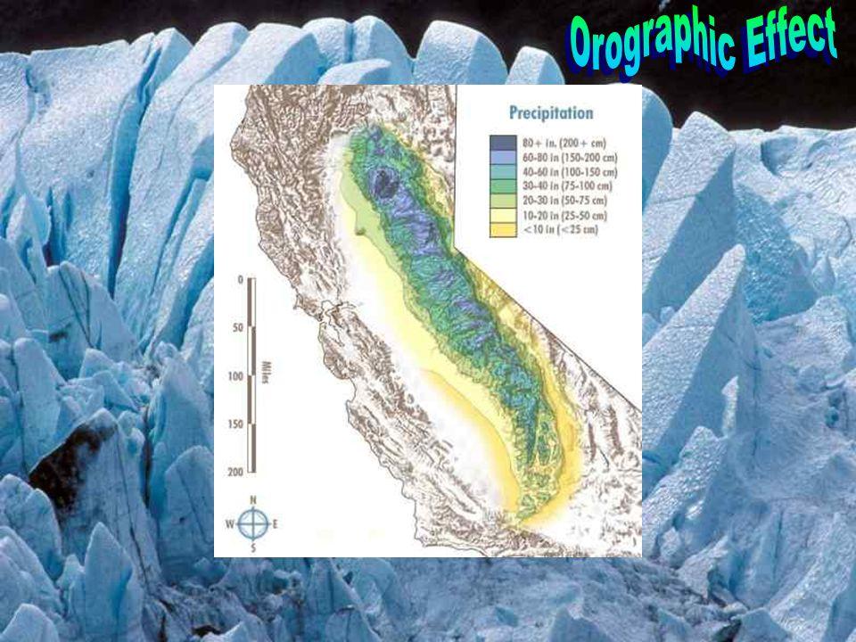Orographic Effect