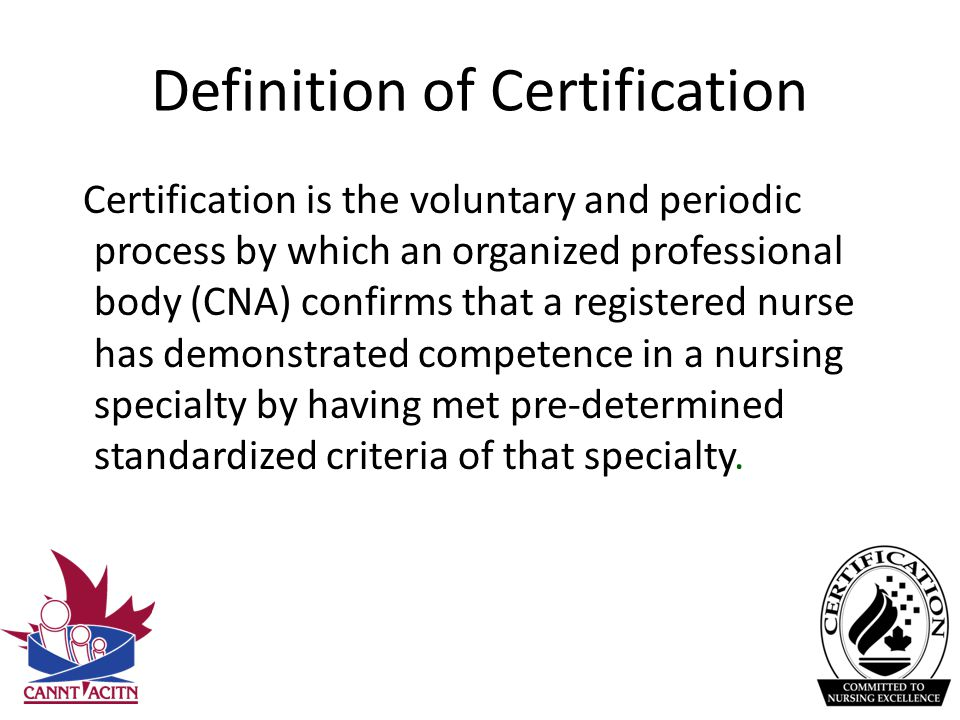 nursing excellence definition