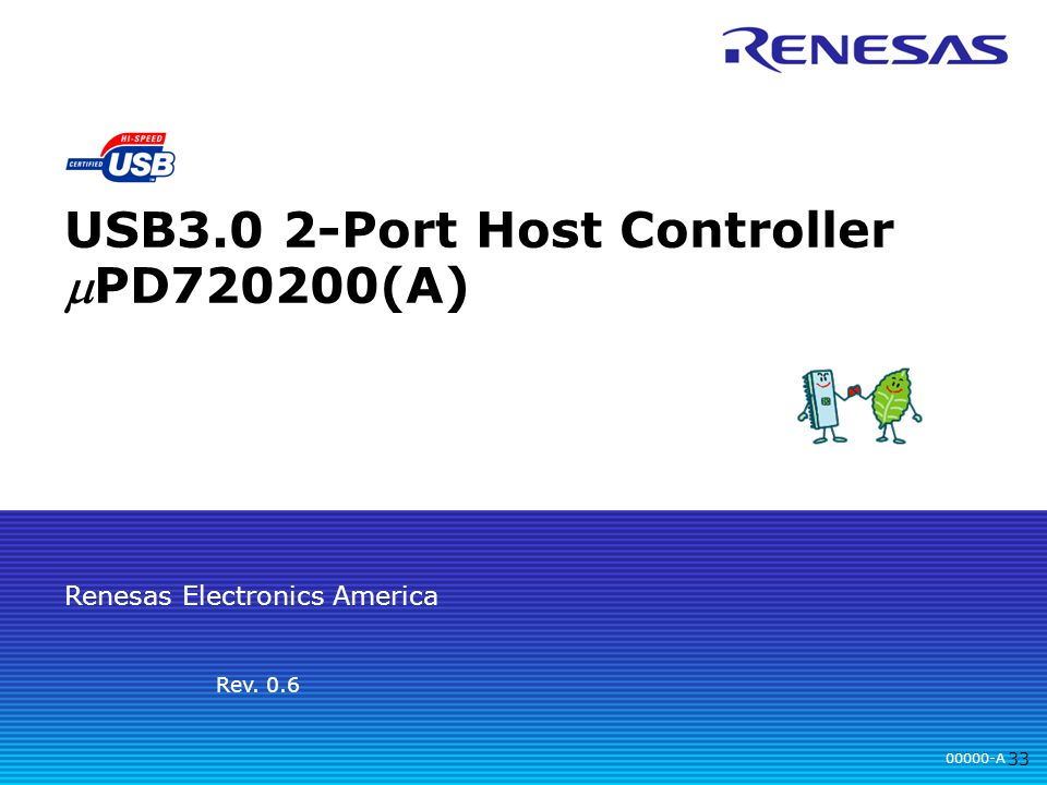 Renesas Electronics uPD720200/uPD720200A USB 3.0 Driver Windows XP