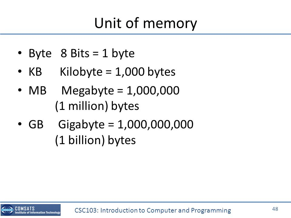 intro to computer science bits bytes Computer science 101  the course teaches you these fundamentals of computer science nick explains bits and bytes, how computers are able to turn 1s and 0s into.