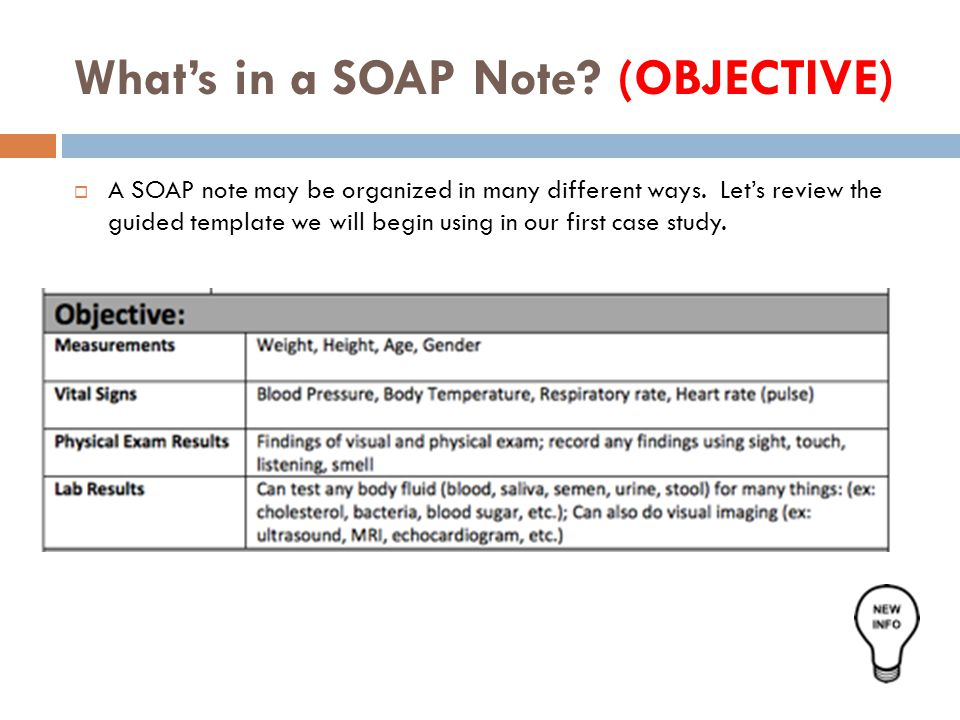 lesson 1 8  the soap note unit 1  mental health