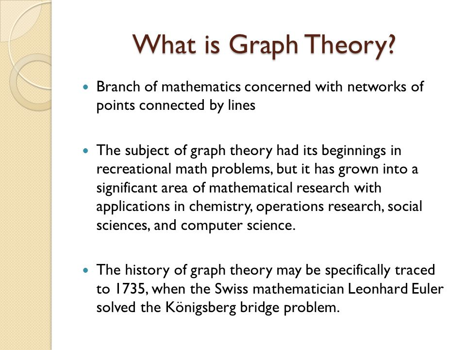 research papers on graph theory