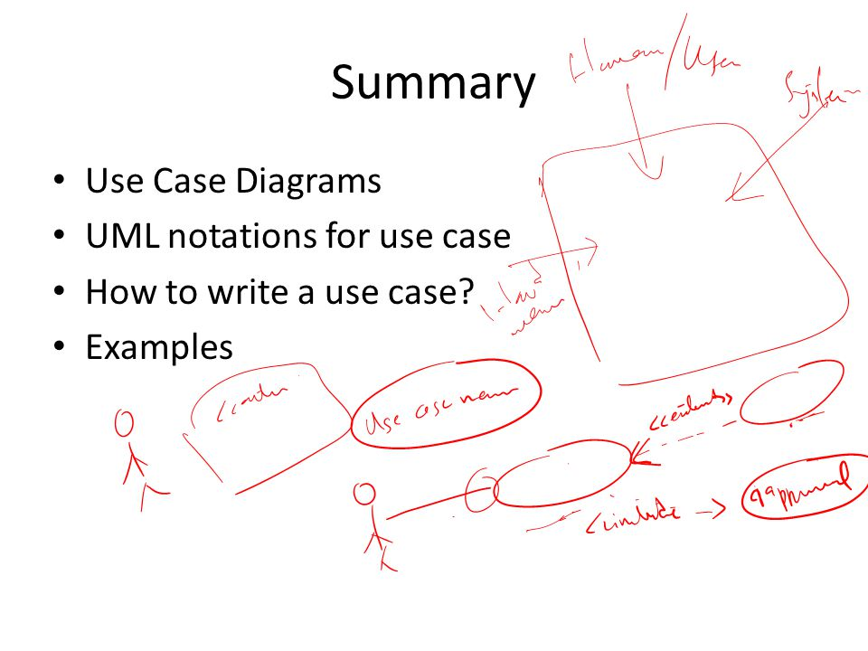 Use case diagram ppt video online download summary use case diagrams uml notations for use case ccuart Choice Image