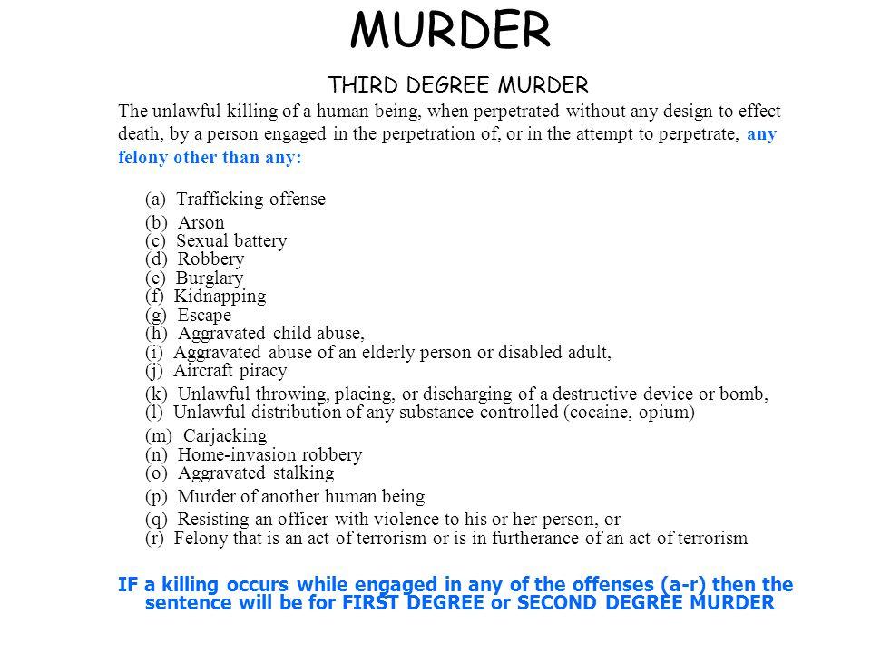 9. 3 first-degree murder | criminal law.