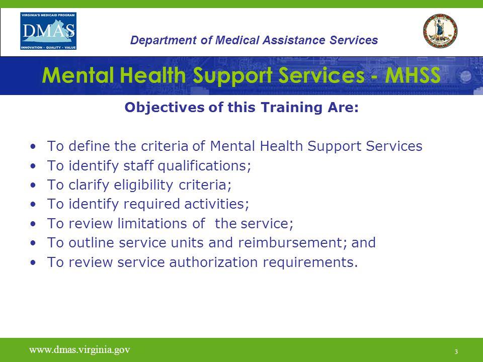 mental health support services (mhss) - ppt  online download
