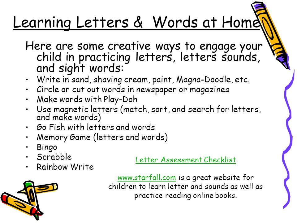 creative ways to write words