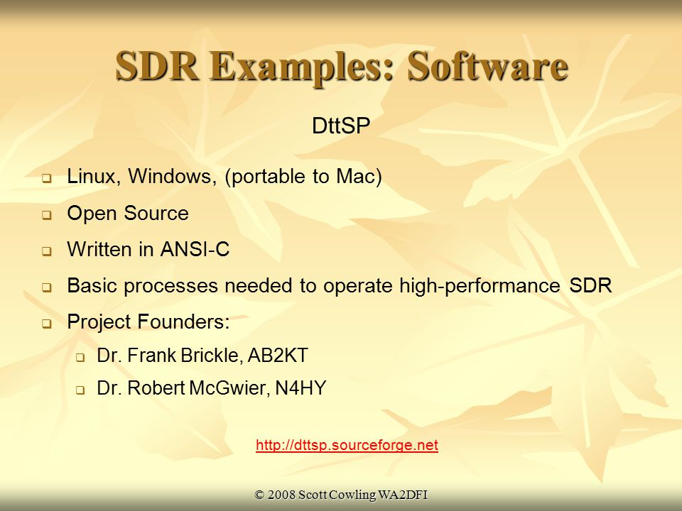 Sdr Software For Mac