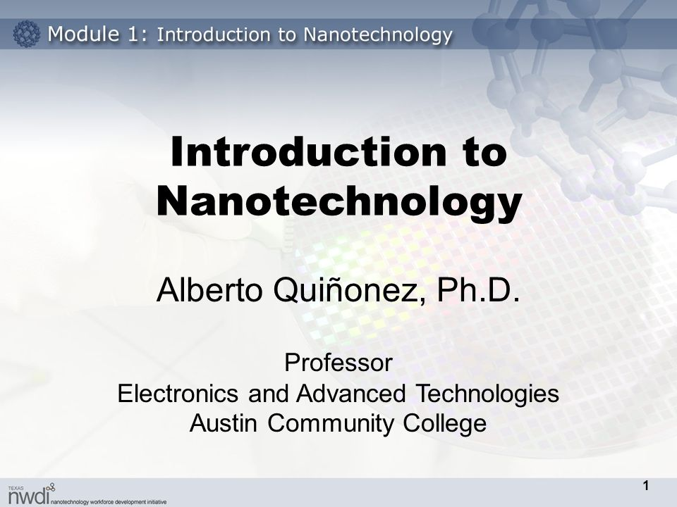Introduction to Nanotechnology - ppt download