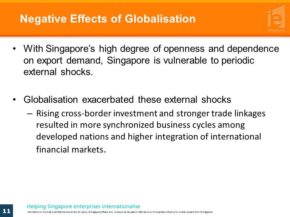 negative impact of globalization on business