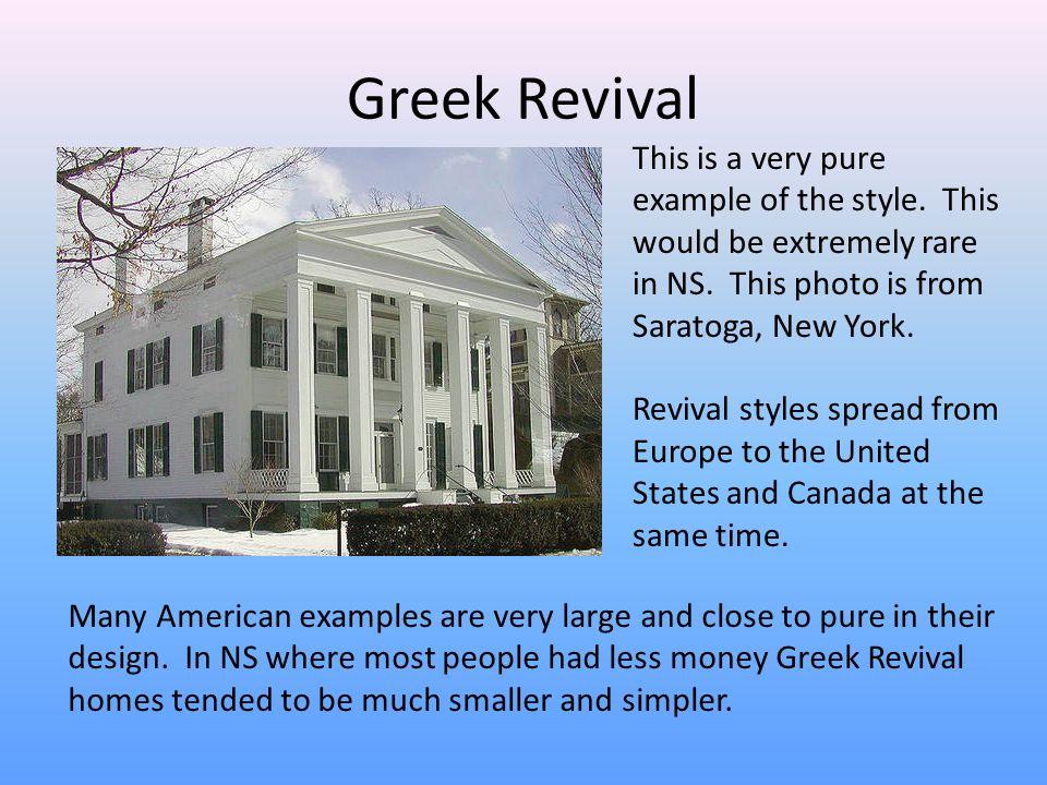 Greek Revival Architecture - ppt video online download