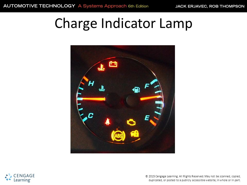 Charge Indicator Lamp