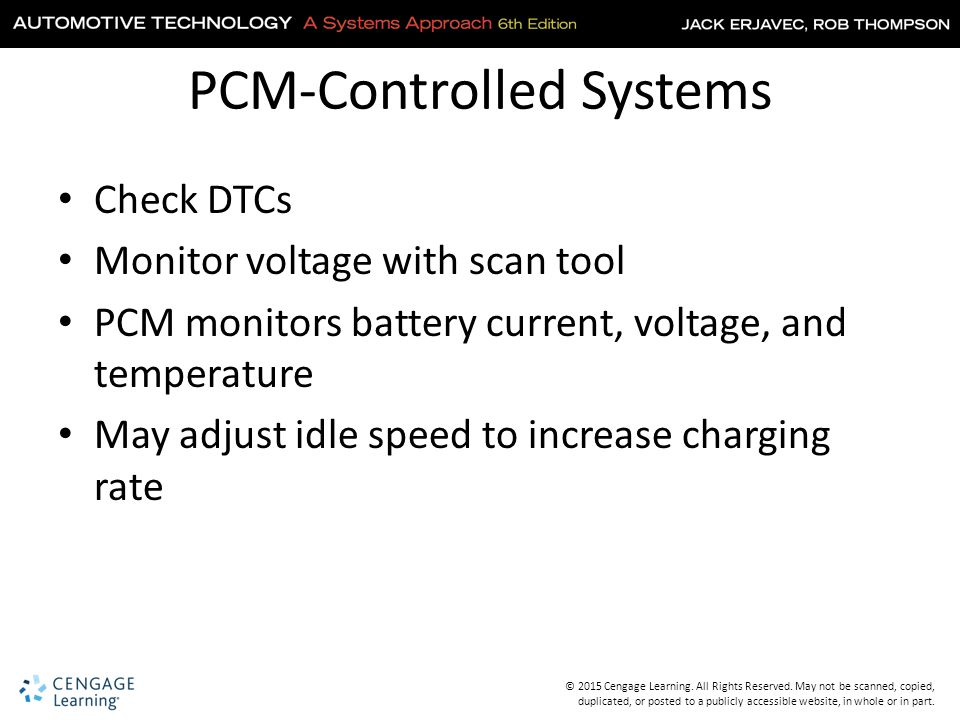PCM-Controlled Systems