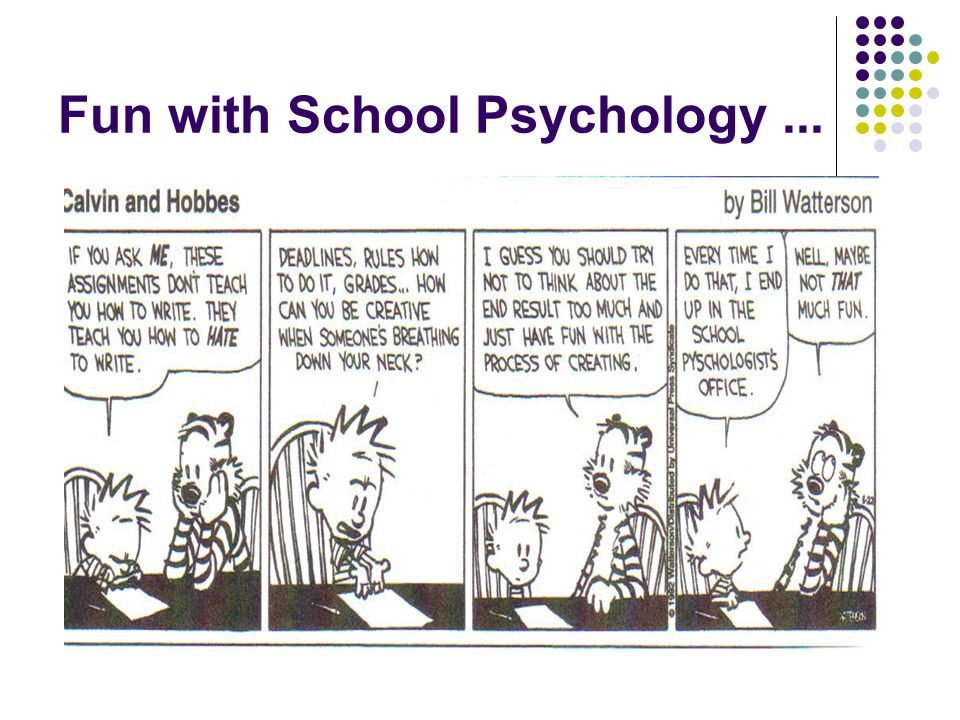 Fun with School Psychology ...