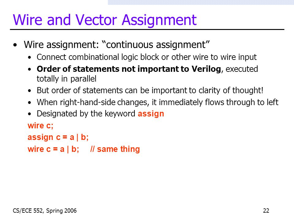 Verilog For Computer Design - ppt video online download