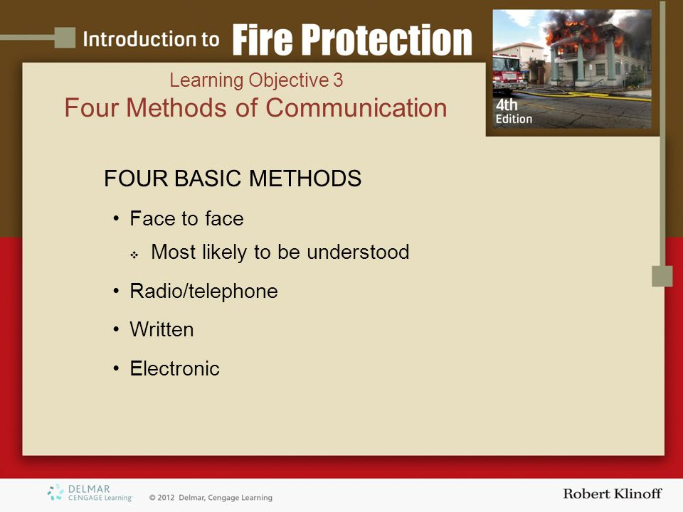 Four Methods of Communication