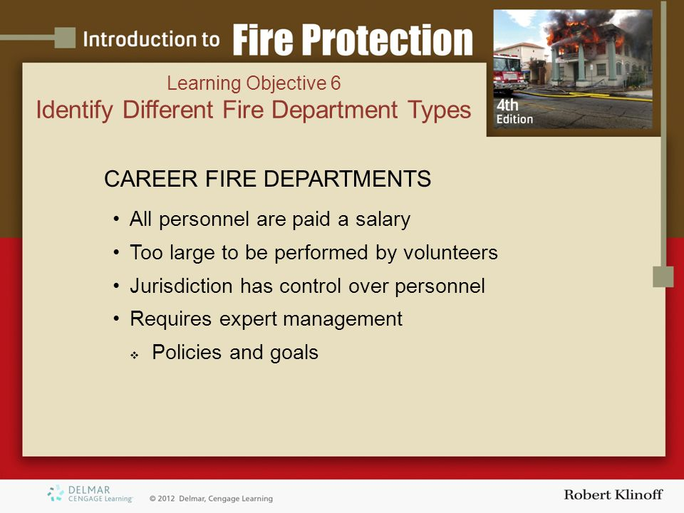 Identify Different Fire Department Types