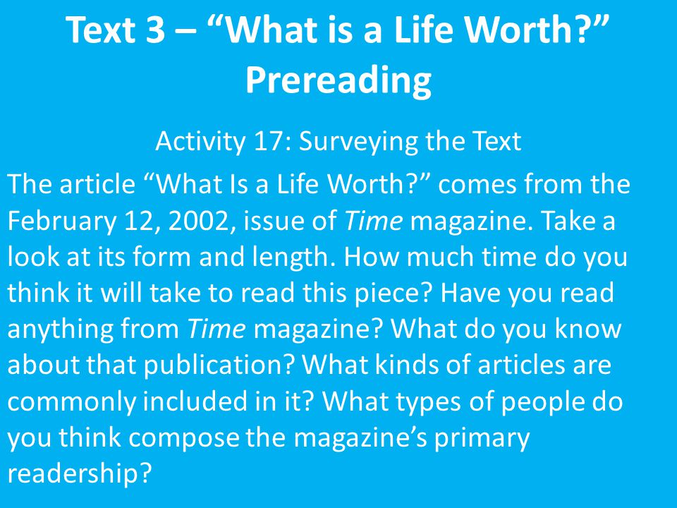 what is a life worth by amanda ripley