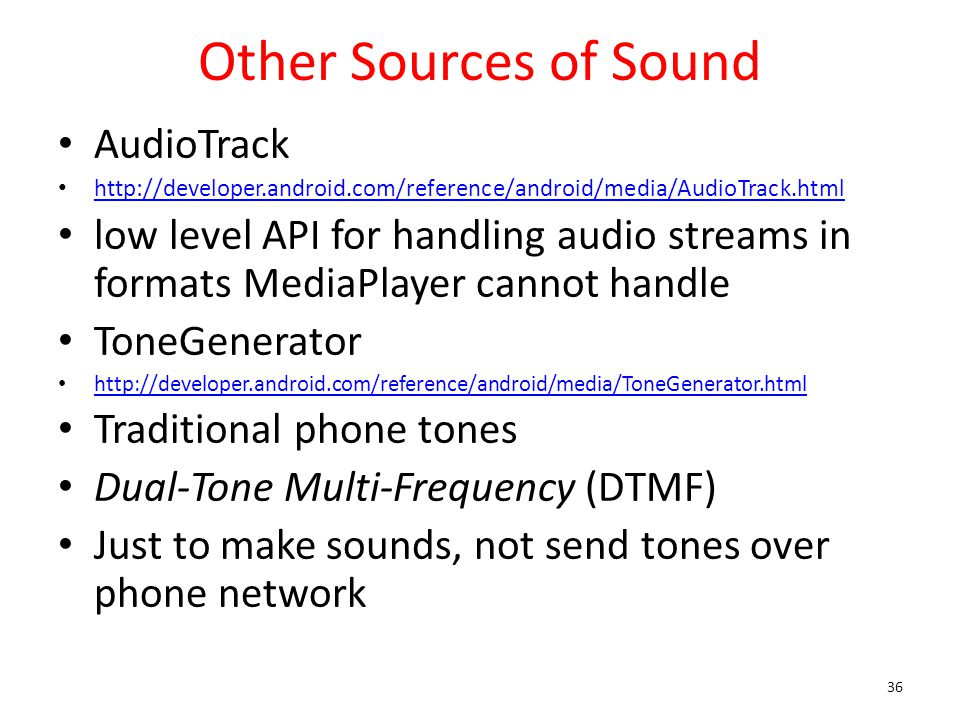 CS371m - Mobile Computing Audio  - ppt video online download