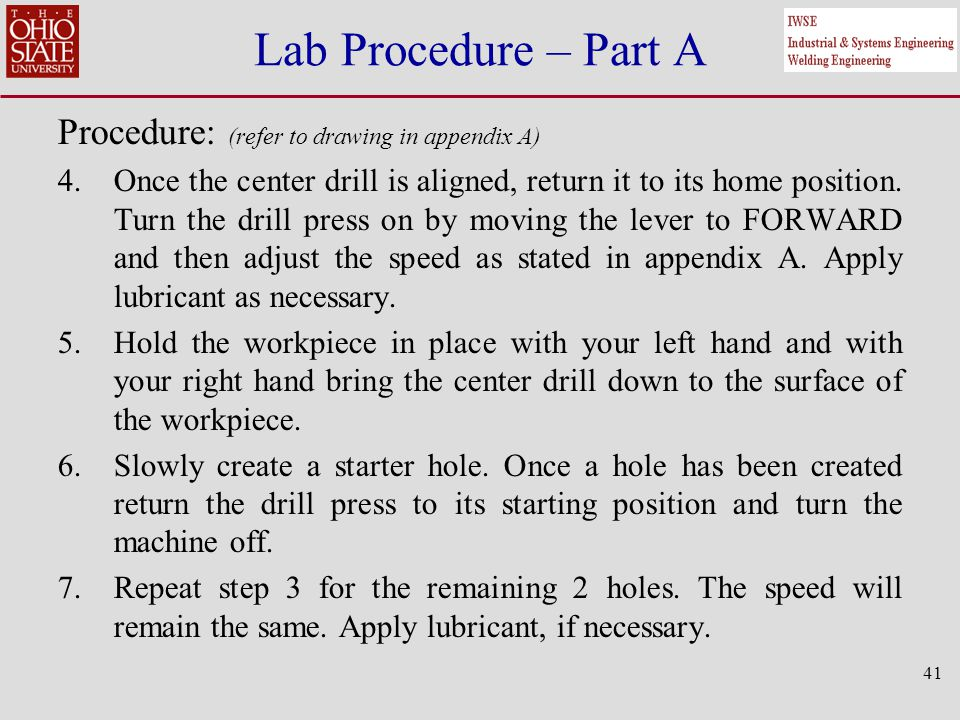 Ignition Off Draw Test Procedures Part I