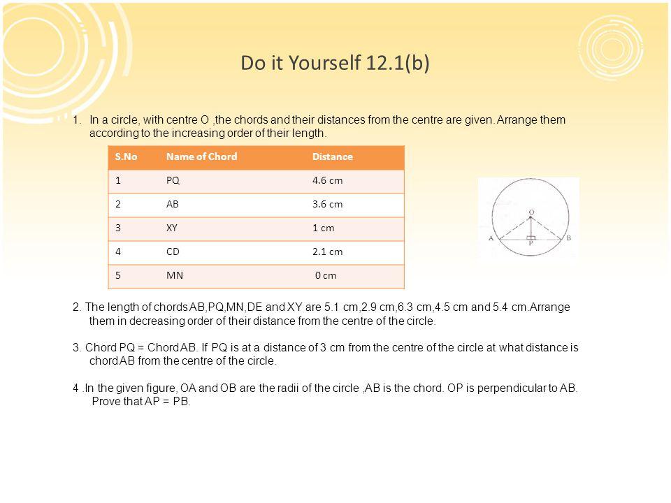 Chapter 12 Circles Math Class Ppt Video Online Download