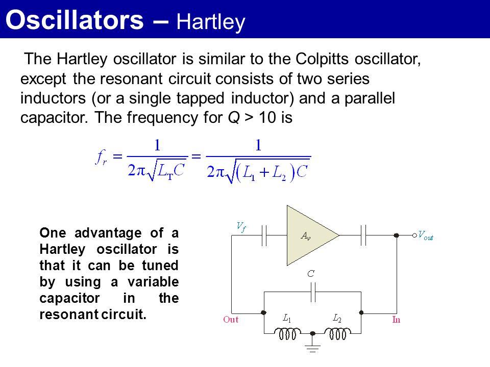 Oscillators 2  LC Oscillators  - ppt video online download