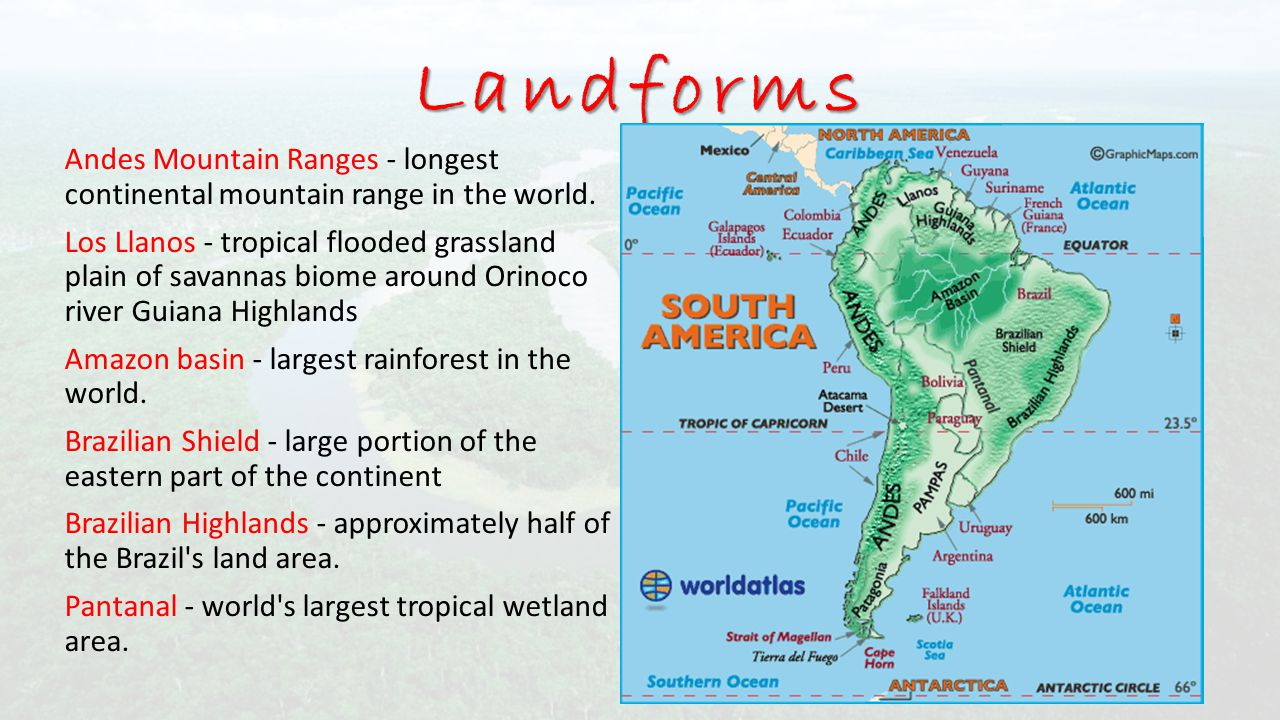SOUTH AMERICA Session ppt download on