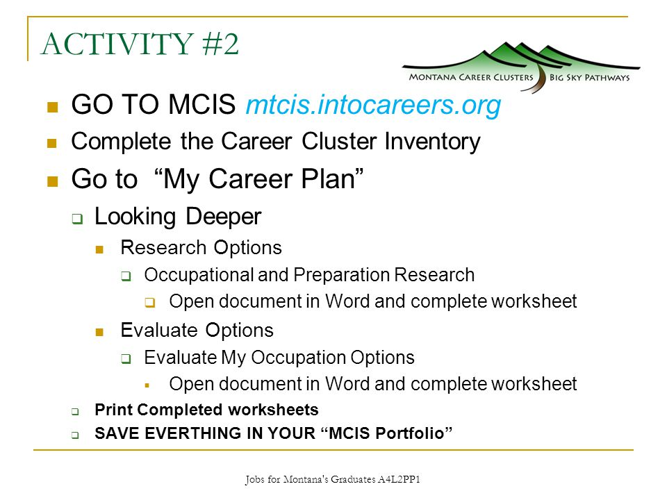 What Are They Why Do We Care Ppt Download. 15 A4l2pp1. Worksheet. 16 Career Clusters Worksheets At Clickcart.co