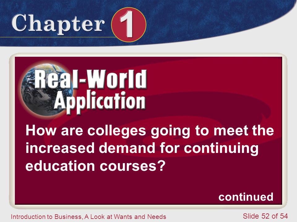 How are colleges going to meet the increased demand for continuing education courses