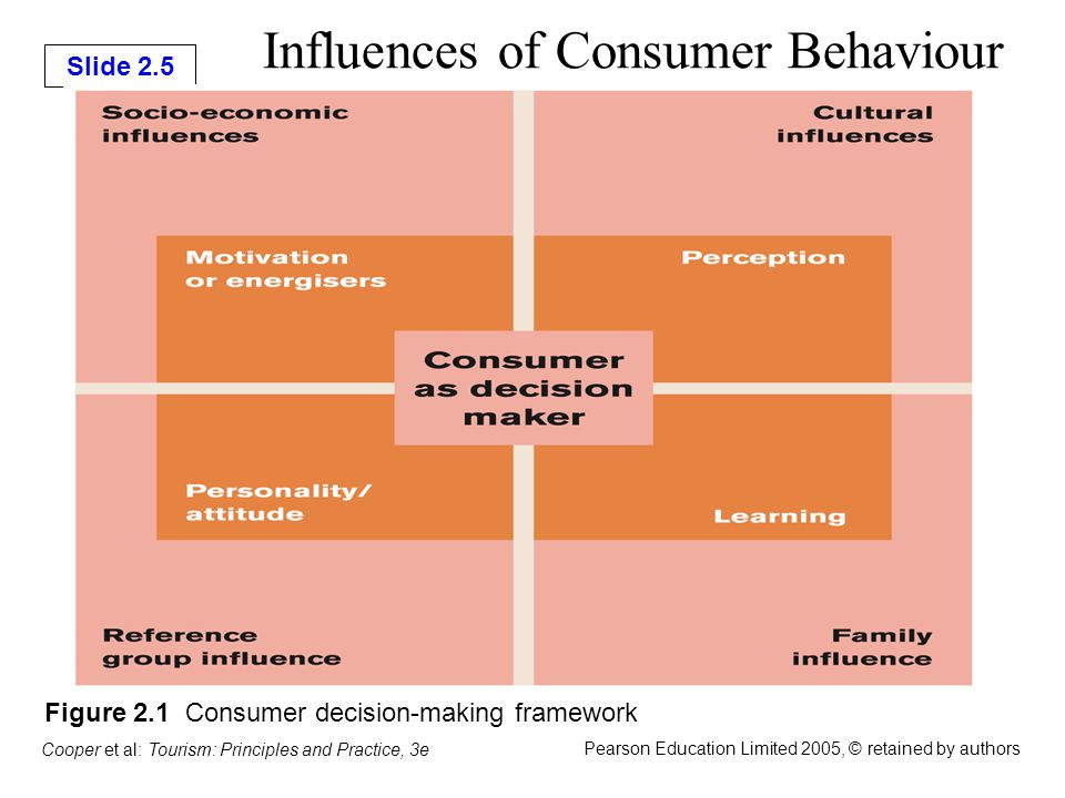 factors that influence the consumer decision process The study of consumer behaviour also investigates the influences, on the consumer, from groups such as family, friends, sports, reference groups the voluminous data produced by these databases enables detailed examination of behavioural factors that contribute to customer re-purchase.