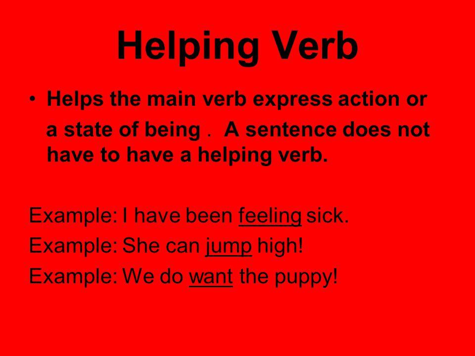 Helping Verbs Language Arts Ppt Video Online Download