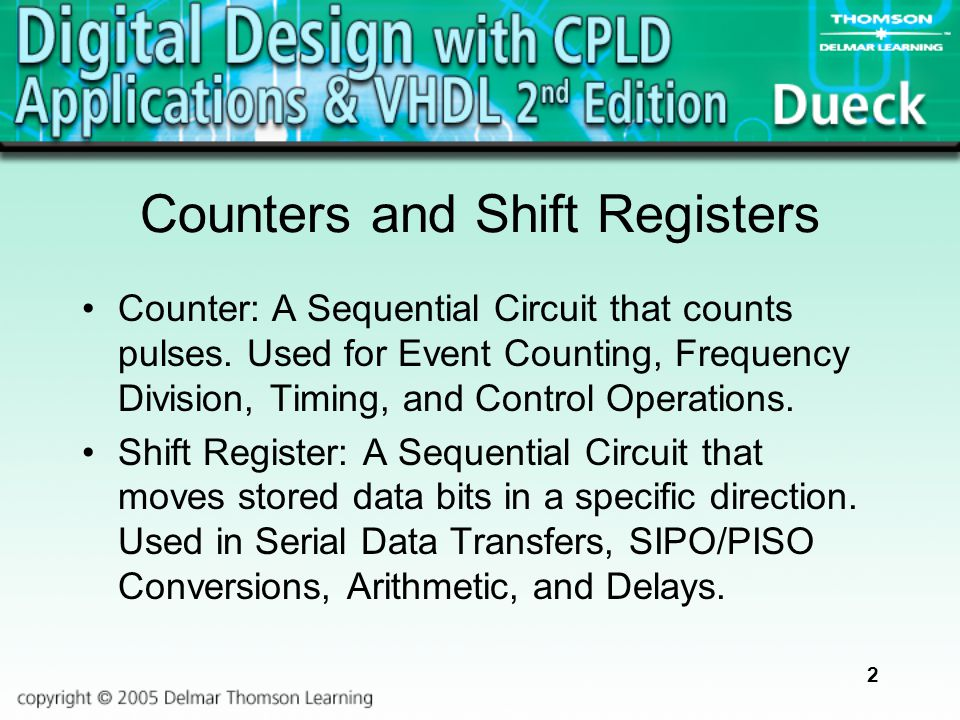 7e50974e309f22 Counters and Shift Registers - ppt video online download