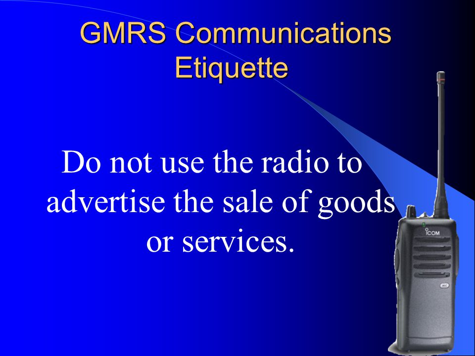 LDS Emergency Communications Specialists' Course - ppt video