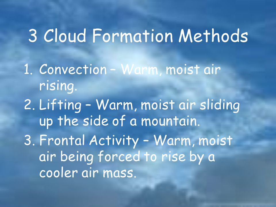 3 Cloud Formation Methods