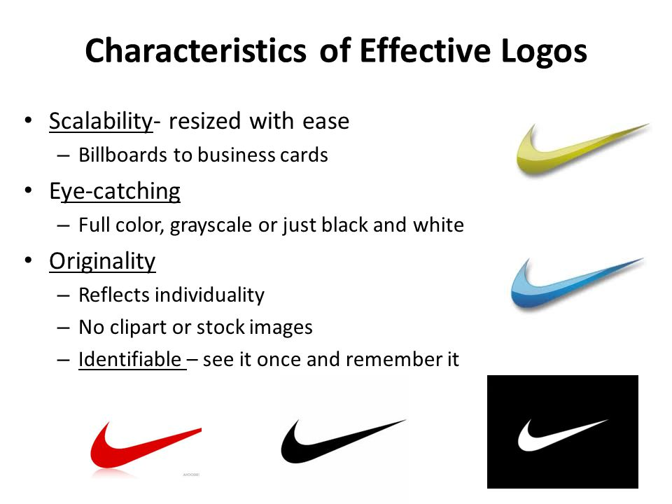 Characteristics of Effective Logos