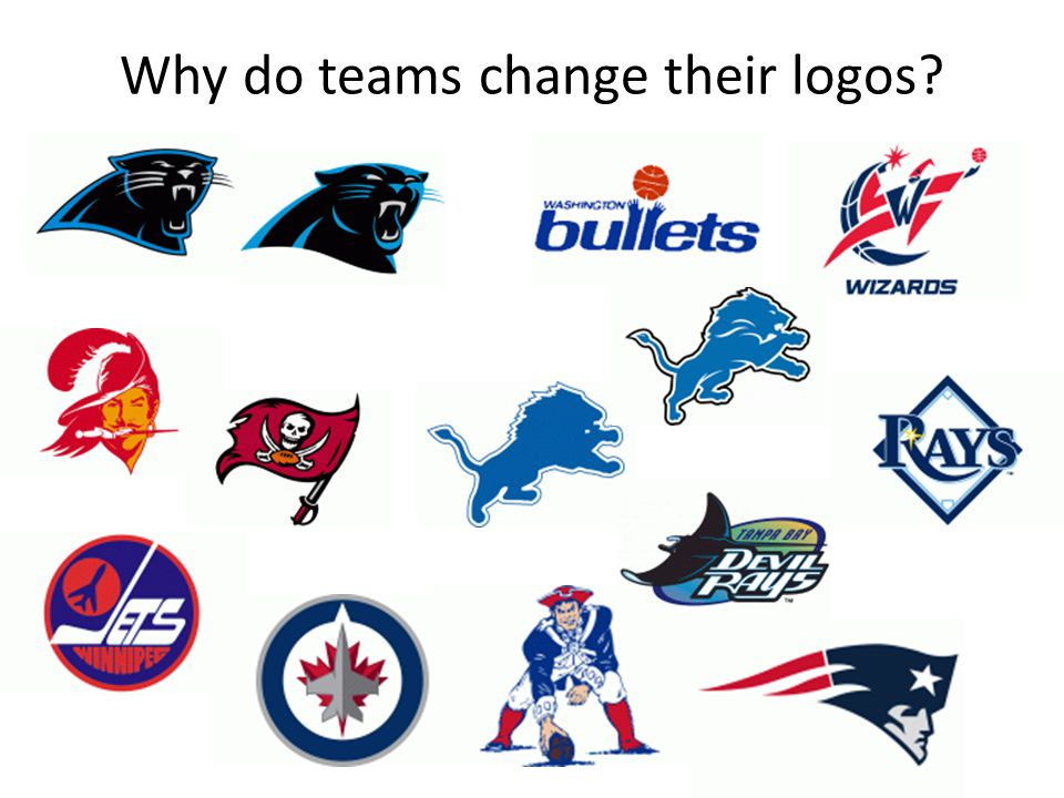 Why do teams change their logos