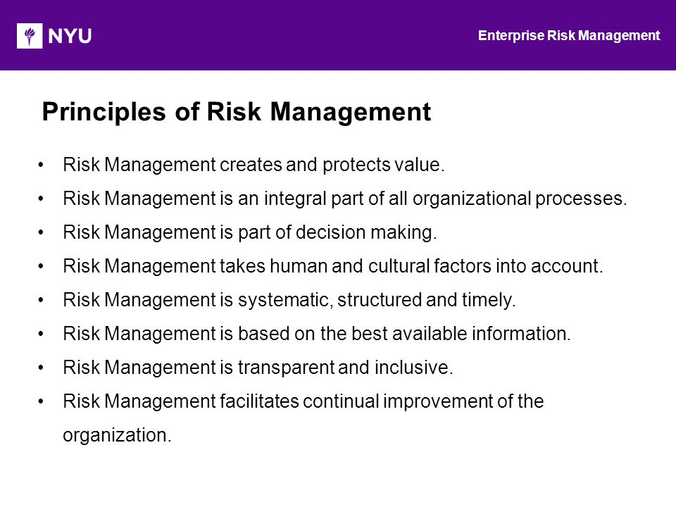 Definition of Risk-based Decision Making