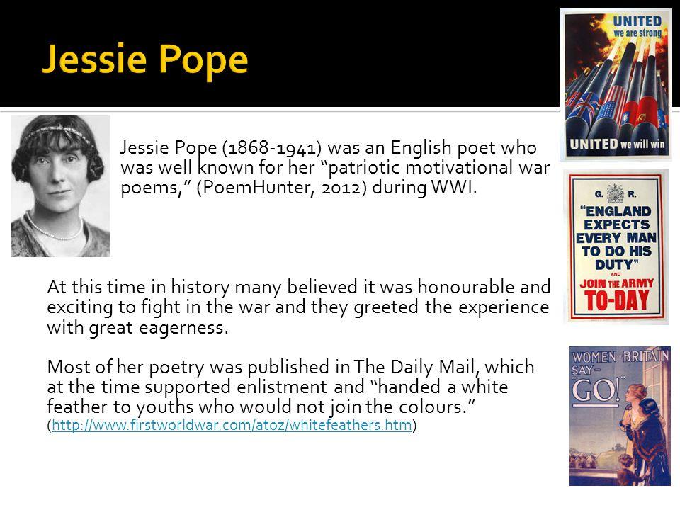 war girls jessie pope