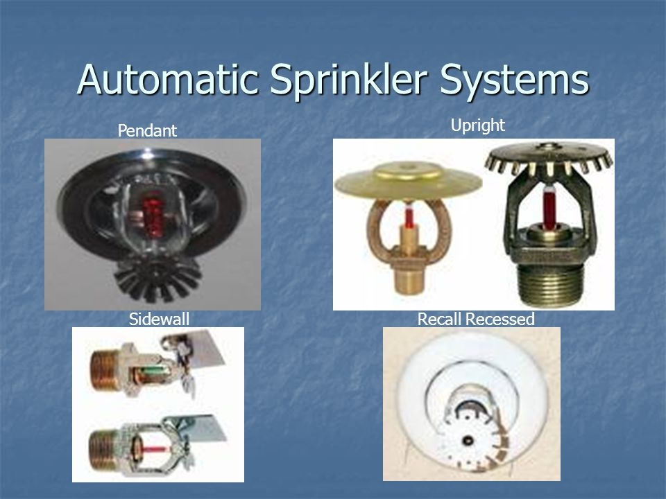 Fire Detection, Alarm, and Suppression Systems - ppt video
