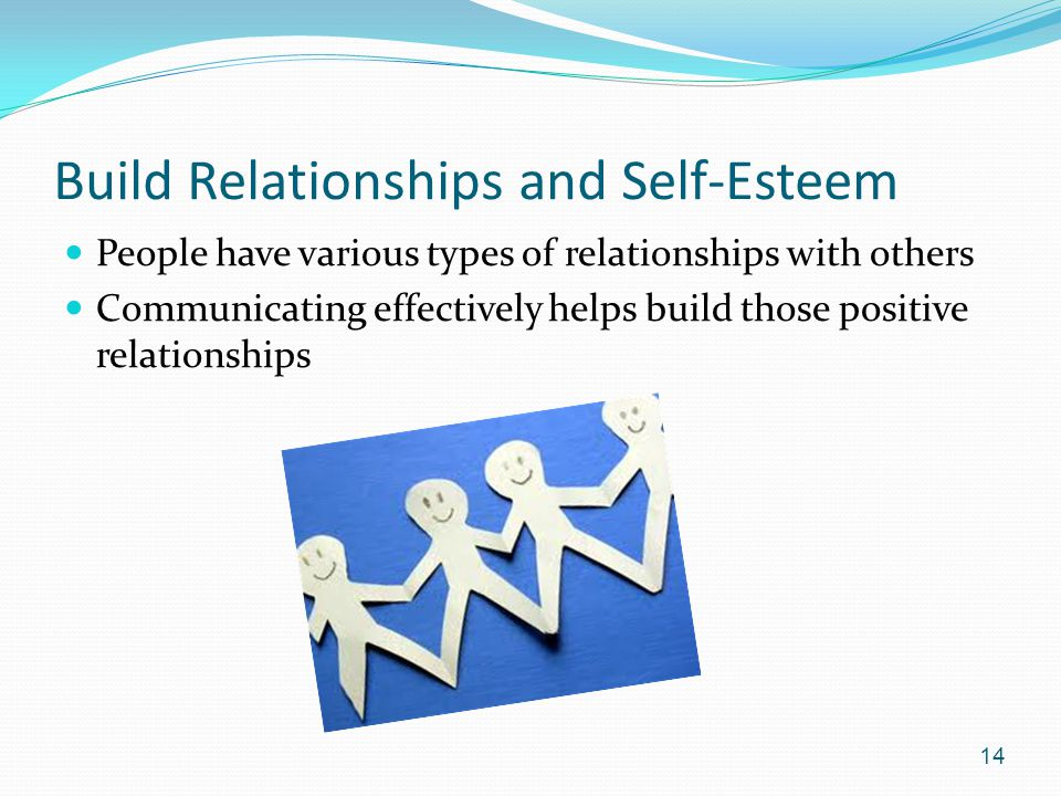 Build Relationships and Self-Esteem